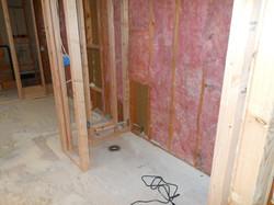 toilet closet in progress
