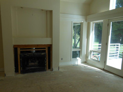 tv room in progress