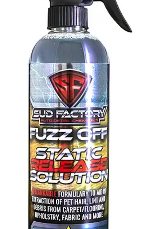 Fuzz-Off Embedded Fabric & Upholstery Debris & Hair Remover