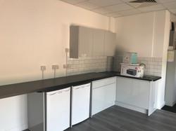 Fitted kitchen at Cornish Mutual