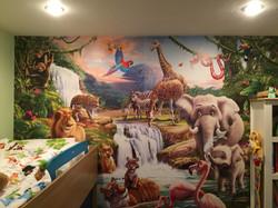 Scenic wallpaper-jungle