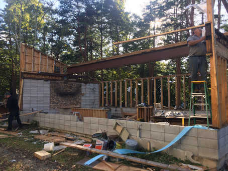 建築の準備・倉庫の解体