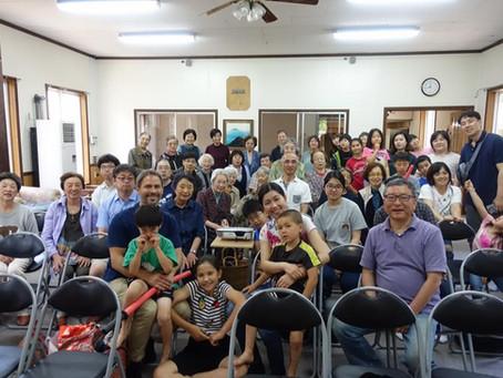 ACCで主日礼拝&BBQ(日本キリスト教団青森教会)