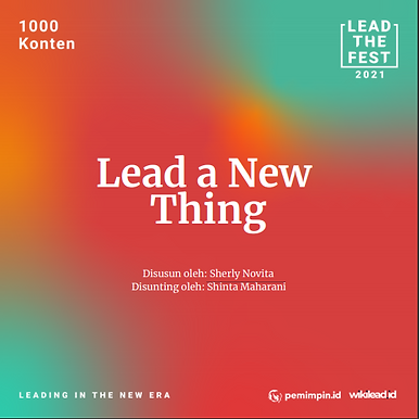 Lead a New Thing