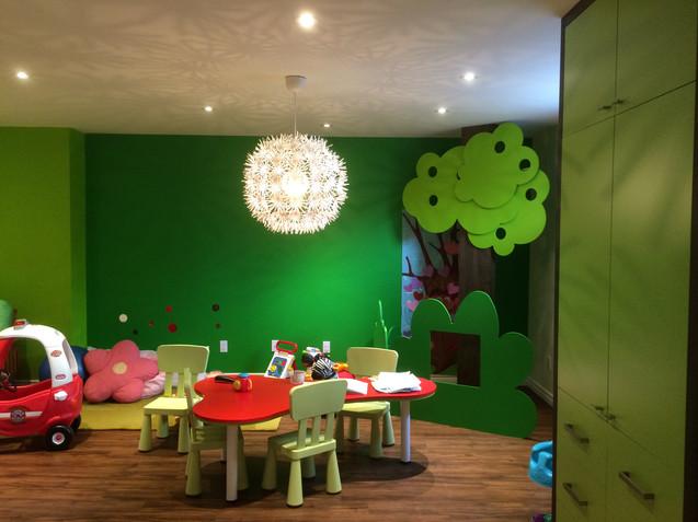 salle de jeux enfants