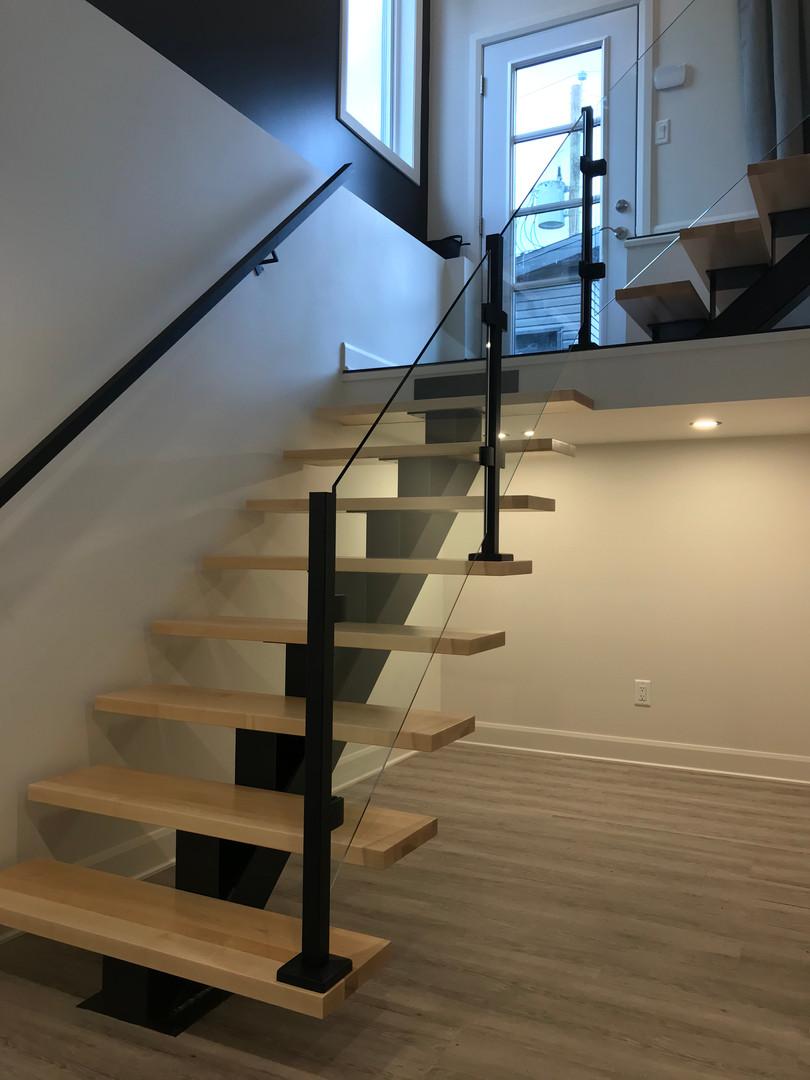 escalier moderne naturelle