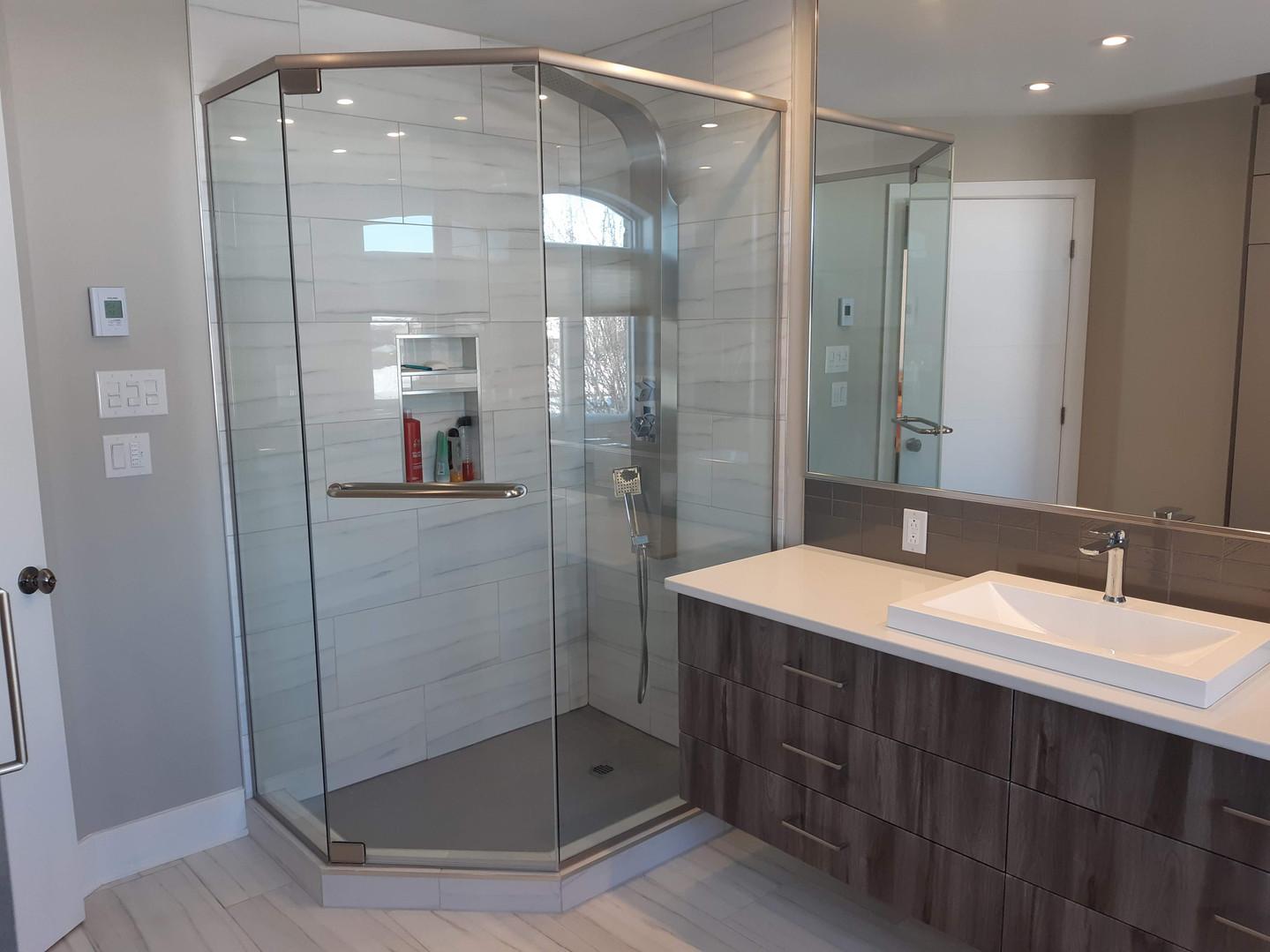 aménagement salle de douche