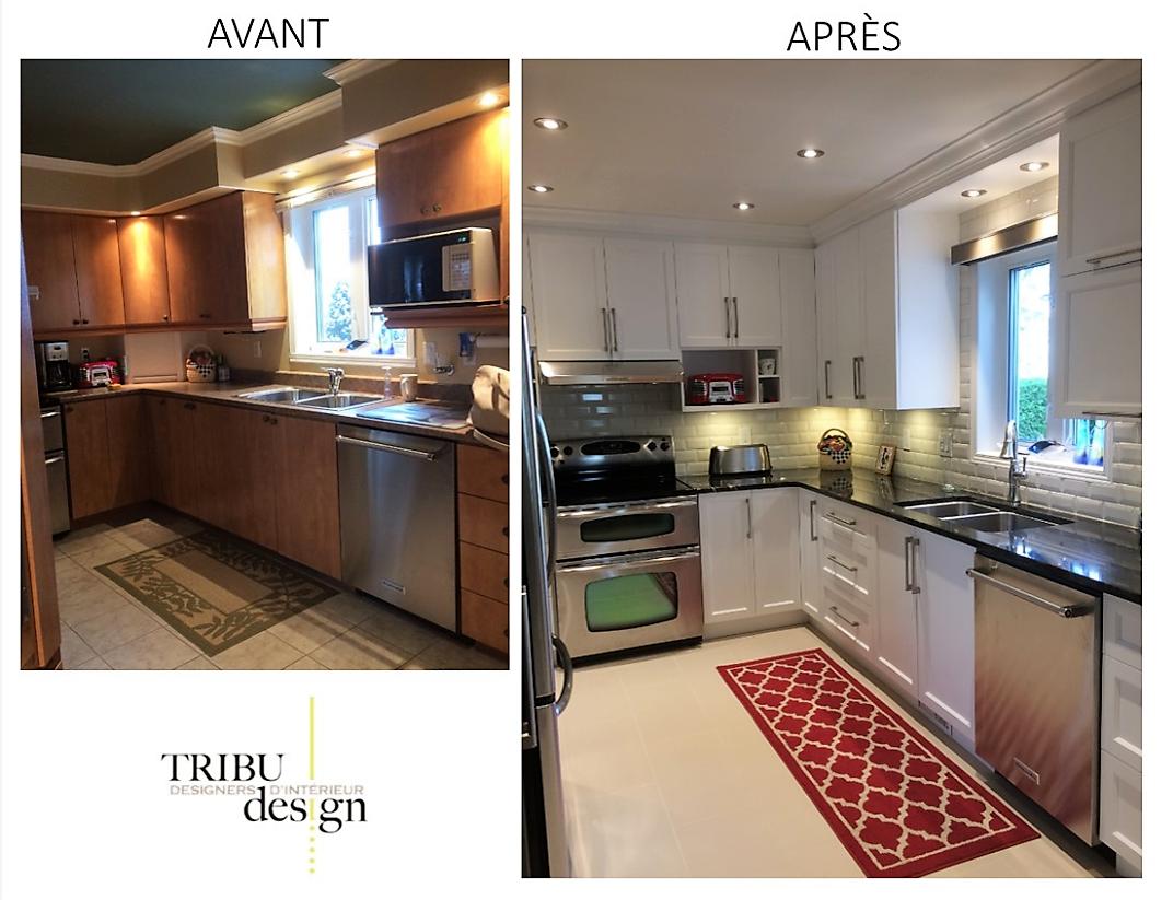 Rénovation de cuisine design