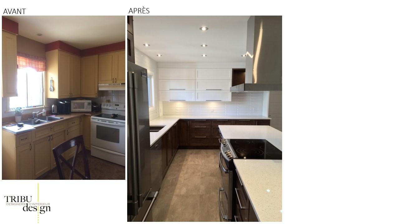 rénovation de cuisine par designer d'intérieur