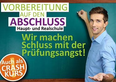 Abschlussprüfung Haupt und Realschule
