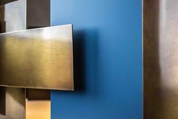 bronzen platen