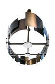 bronzen ovalen hanglamp