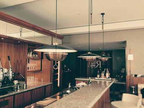Retro hanglamp hotel
