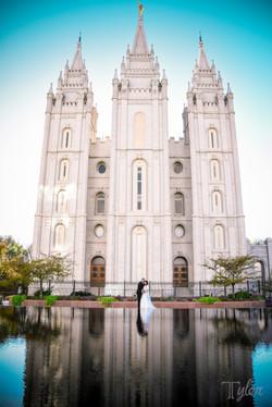 LDS Chapel in Salt Lake City, Utah