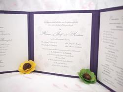 3-Fold Hardbound Invites