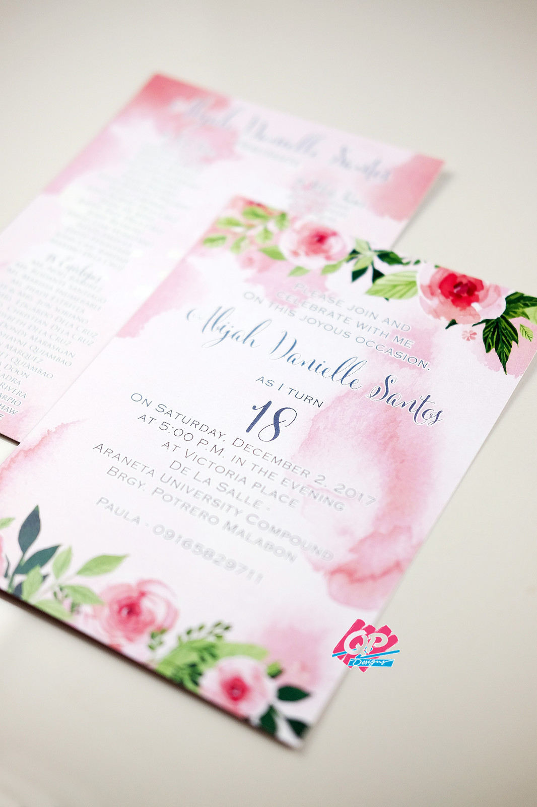 wedding invitations with hearts designs