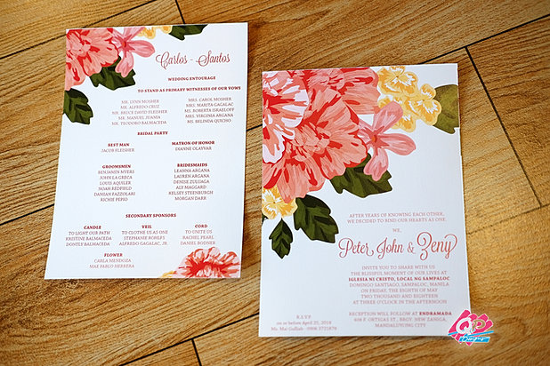 Home 2017 blooming wedding debut invitations stopboris