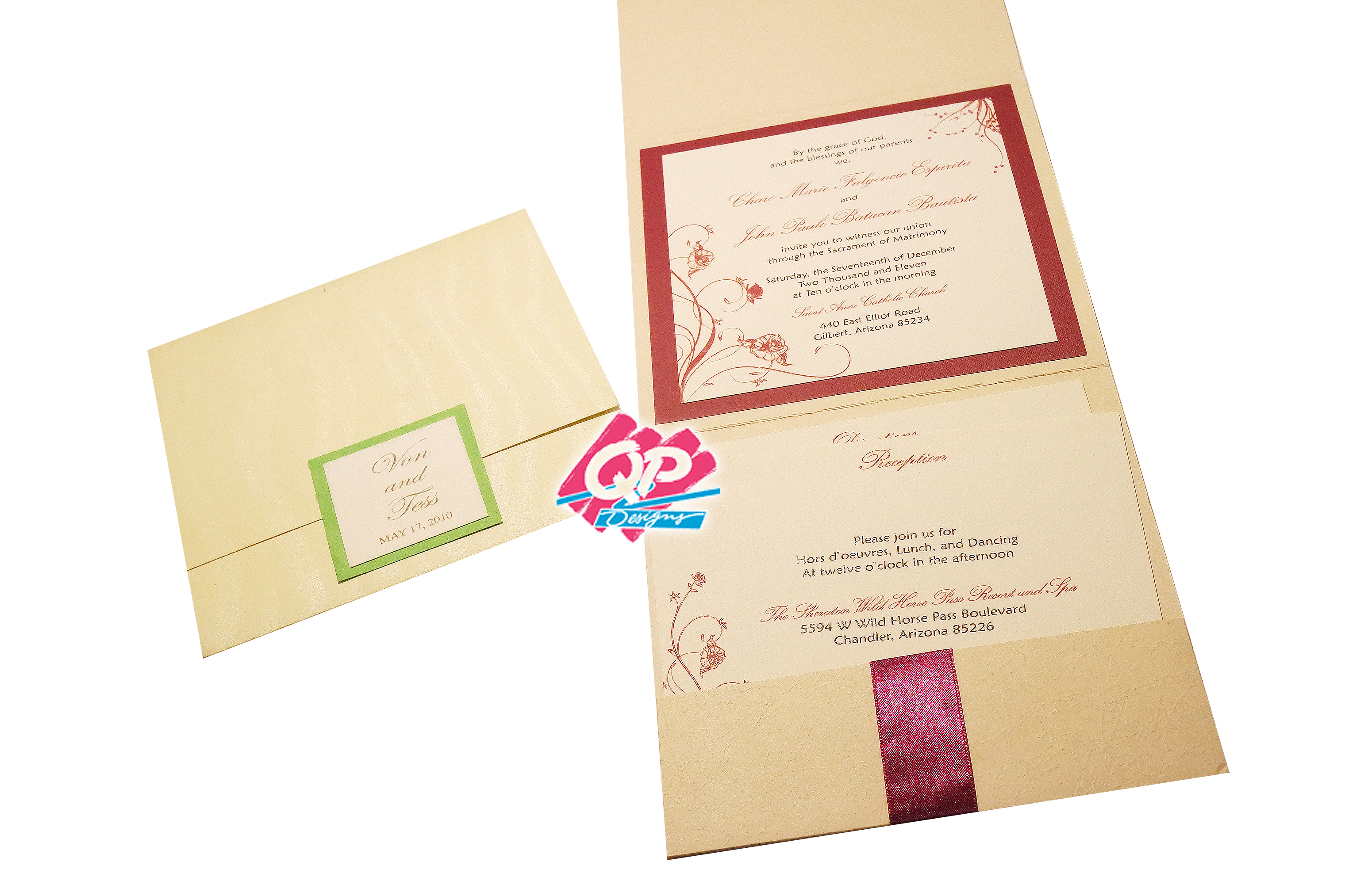 "#7 Pocket Invites - ""Joined in Love"""
