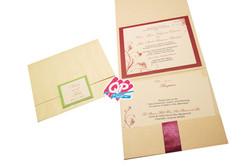 """#7 Pocket Invites - """"Joined in Love"""""""