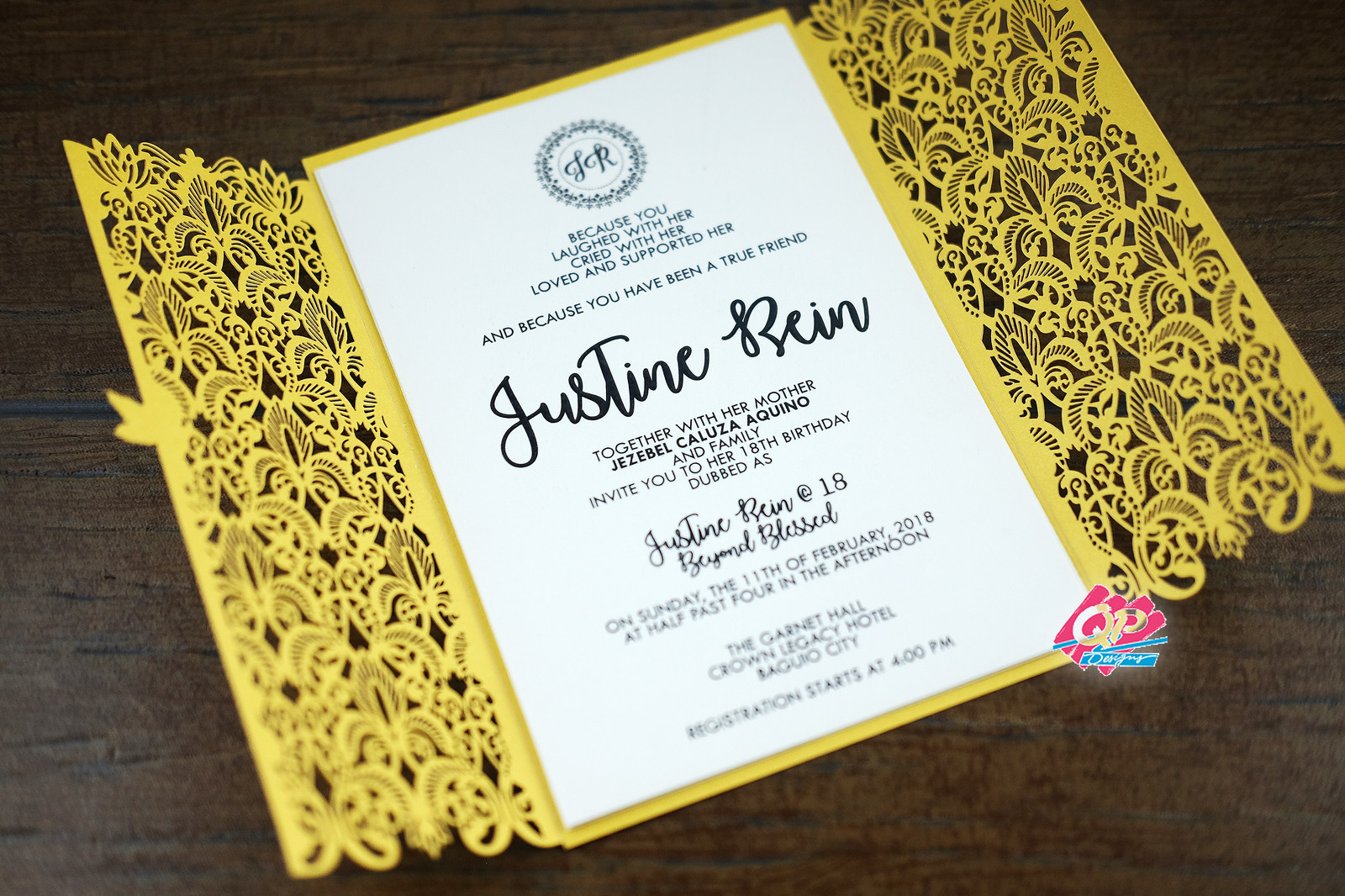 Home 2018 laser cut wedding debut invitations stopboris Choice Image