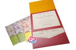 "#3 Pocket Invites - ""Lined w/ Love"""
