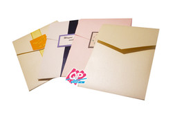 "#2 Pocket Invites - ""Folding Embrace"