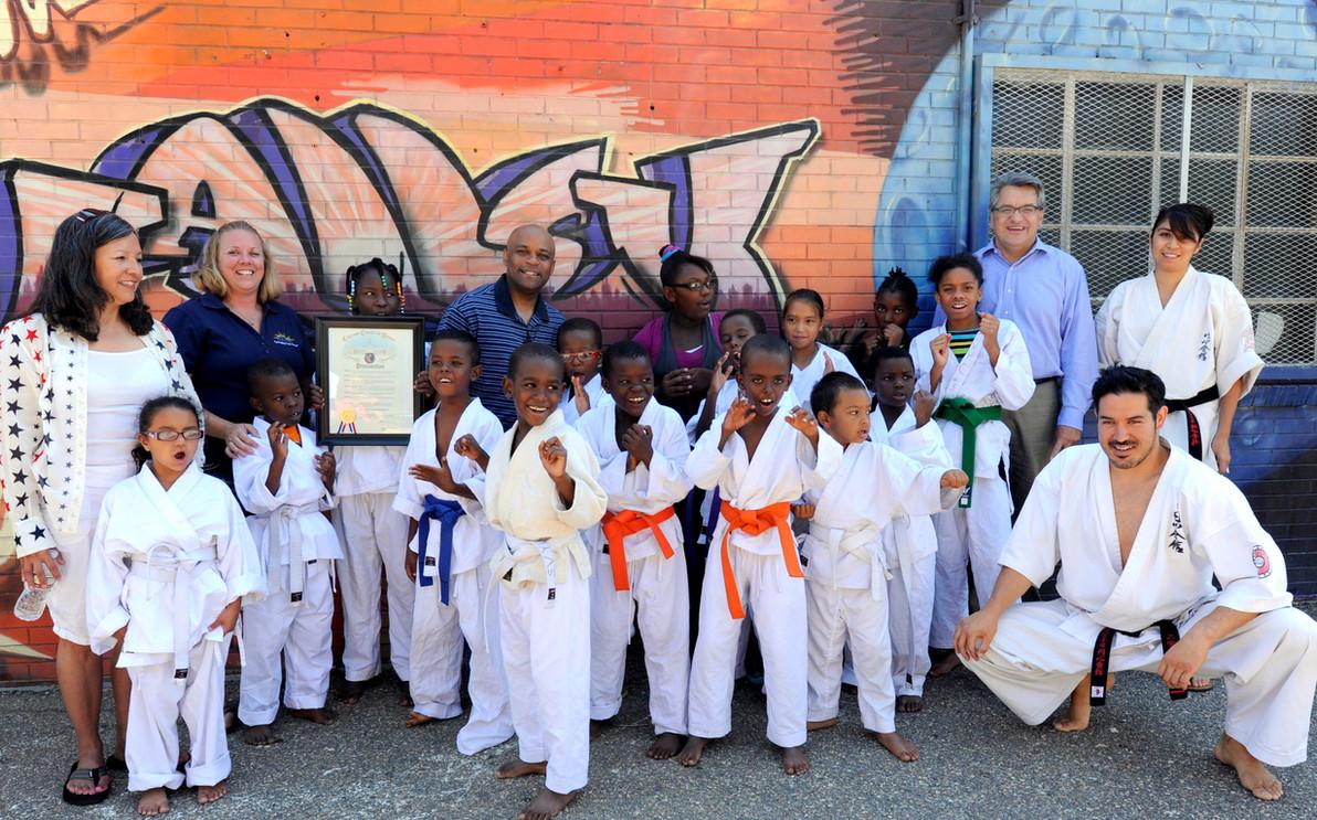 SVYC Summer School Karate CW Montero, Ro