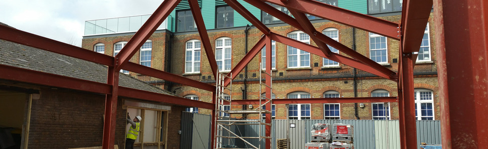 School extension in North London