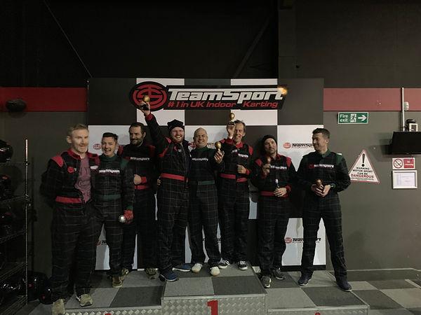 1st place: Michal, Chris, Julian