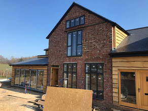 Conversion of old farm building into residential dwellings
