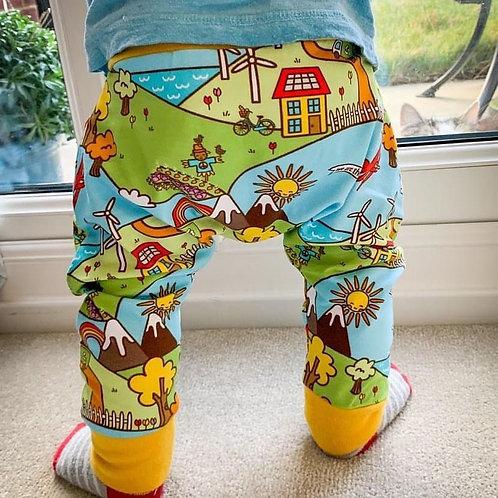 Children's harem pants, made to order