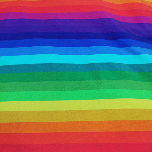 Autumn rainbow stripes