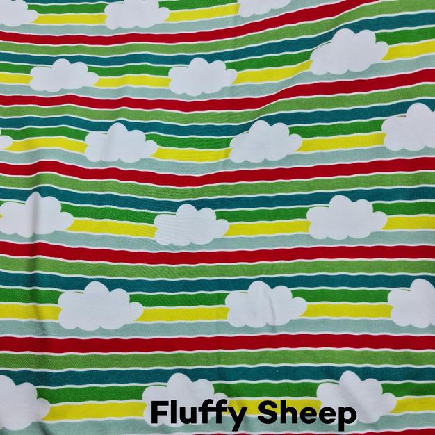 Fluffy Sheep stripes