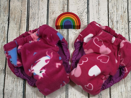 Pink unicorn pull up size medium - 3XL
