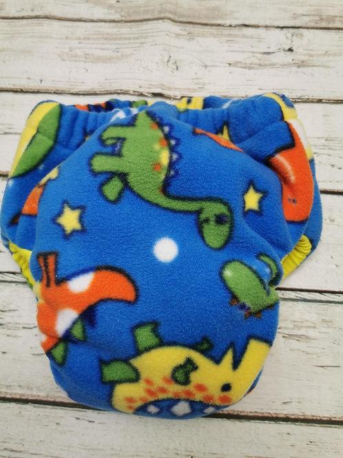 Blue dinosaur pull up size medium - 3XL