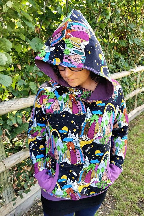 Moonbow Ladies hoodie