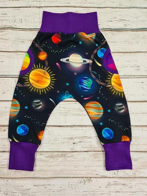 Children's pocket harem pants, made to order