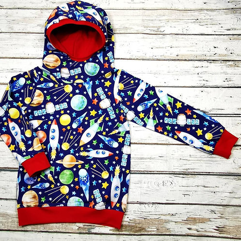 Children's scuba hood hoodie