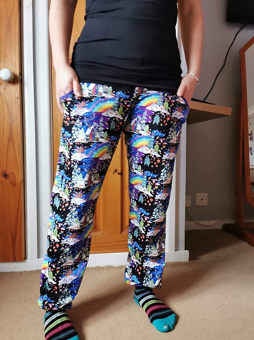 Ladies joggers, pocket pants