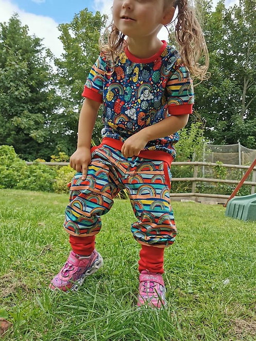 Children joggers made to order