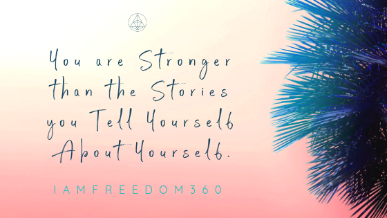 You are stronger than the stories you tell yourself about yourself. Timilia WilliamsTimilia Williams @iamfreedom360
