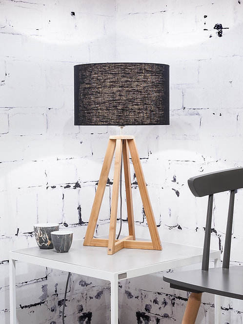 EVEREST table lamp w/black shade
