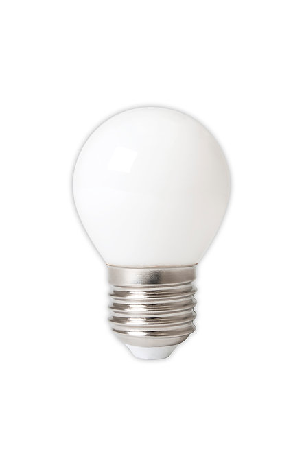 Light bulb white LED globe / small - E27