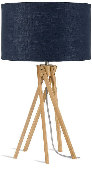 KILIMANJARO table lamp w/blue denim shade