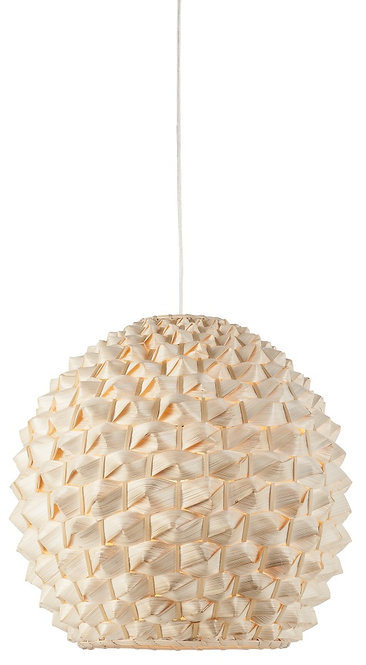 SAGANO hanging lamp round natural