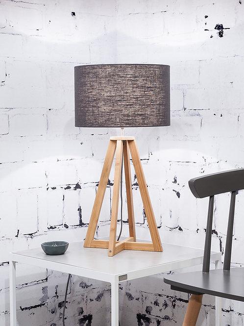 EVEREST table lamp w/dark grey shade