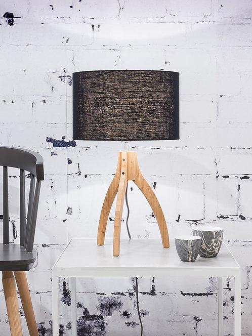 ANNAPURNA table lamp w/black shade