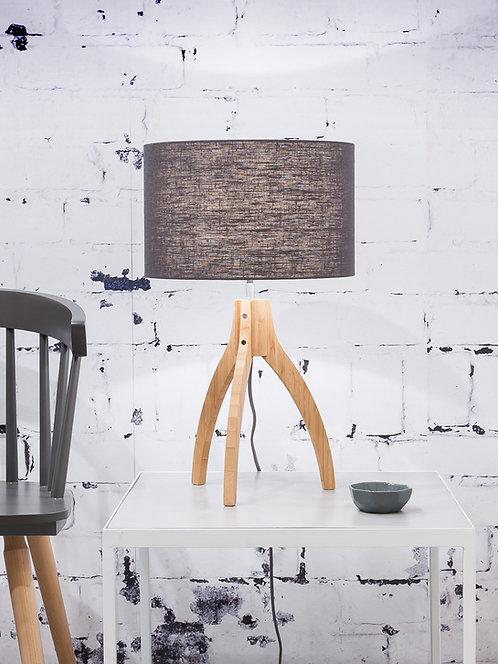 ANNAPURNA table lamp w/dark grey shade