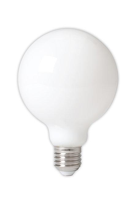 Light bulb white LED globe / medium