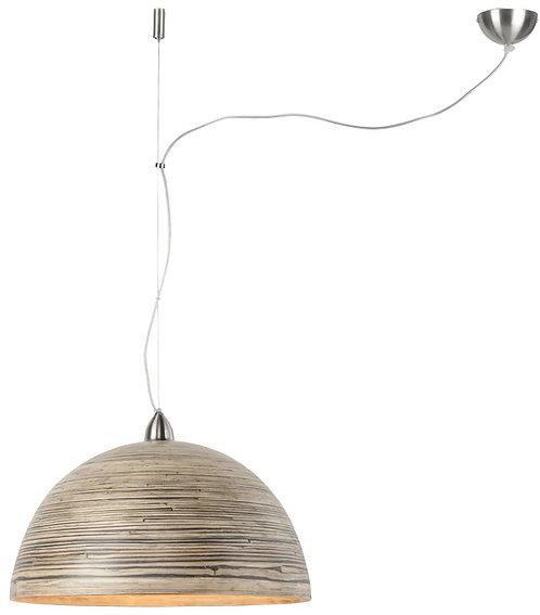 HALONG hanging lamp single dark natural